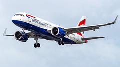 Airbus A320-251N G-TTND British Airways (William Musculus) Tags: london heathrow lhr egll airport spotting aviation plane airplane william musculus gttnd british airways airbus a320251n ba baw a320neo a320200neo neo