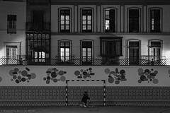 Schoolyard (ralcains) Tags: sevilla seville siviglia andalousia andalucia andalusia spain españa blackwhite blancoynegro bw blackandwhite schwarzweis noiretblanc rangefinder telemetrica greyscale monochrome monochromatic monocromo monocromatico monochrom street streetphotography calle fotografiadecalle ngc leica leicam leicamonochrom 35mm summicron