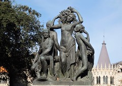 Barcelona - Escultura Plaza de Cataluña (EduOrtÍn.) Tags: escultura plaza cataluña barcelona