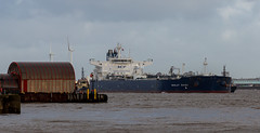 Nikolay Zuyev (frisiabonn) Tags: vehicle ship water wirral liverpool england uk britain marine vessel rivermersey merseyside sea shore waterfront maritime boat outdoor birkenhead docks harbour cargo nikolayzuyev crude oil tanker tug tugboat svitzer stanlow amazonas millgarth large