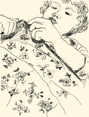 Knitting 20191111 (danielborisheifetz) Tags: art drawing pencil portraiture portrait female
