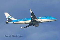 ERJ-175STD PH-EXW KLM CITYHOPPER (shanairpic) Tags: jetairliner passengerjet erj175 embraer175 shannon klmcityhoppr phexw