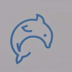 Service Dolphin (Service Dolphin) Tags: tmi serviceanimals logo artwork dolphin