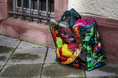 Abgestellte Tasche (kavo2013) Tags: darmstadt hessen deutschland