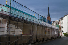 Instansetzung Herrngartenmauer (kavo2013) Tags: darmstadt hessen deutschland