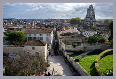 Vue plongeante sur Saintes / Plunging view of Saintes (christian_lemale) Tags: saintes saintonge ville town nikon z6