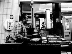 Ticket gate. (mitsushiro-nakagawa) Tags: 新宿 manhattan usa london uk paris アンチノック milan italy lumix g3 fujifilm mothinlilac mil gfx50r bw mono chiba japan exhibition flickr youpic gallery camera collage subway street novel publishing mitsushiro nakagawa artist ny interview photograph picture how take write display art future designfesta kawamura memorial dic museum fineart