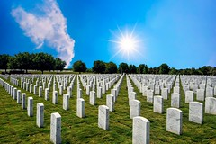 Veterans Day 2019 (Charles Patrick Ewing) Tags: landscape holiday veterans sun sunshine sky graves cemetary art artistic great beautiful new all everything fave favorite outdoor cloud clouds tree trees grass green blue starpoint bright colors nikon colorful military