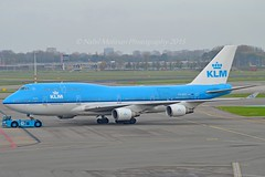 """City of Freetown"" KLM Royal Dutch Airlines PH-BFF Boeing 747-406M cn/24202-770 wfu 25-12-2017 std at ENS 25-01-2018 broken up 11-2018 at ENS @ EHAM / AMS 08-11-2015 (Nabil Molinari Photography) Tags: cityoffreetown klm royal dutch airlines phbff boeing 747406m cn24202770 wfu 25122017 std ens 25012018 broken up 112018 eham ams 08112015"