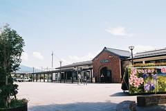 Kitakata Station (しまむー) Tags: pentax mz3 smc a 28mm f28 kodak gold 200 北海道&東日本パス 普通列車 local train trip east japan
