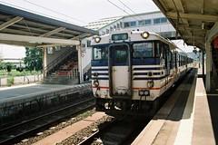 JR磐越西線 キハ47 (しまむー) Tags: pentax mz3 smc a 28mm f28 kodak gold 200 北海道&東日本パス 普通列車 local train trip east japan