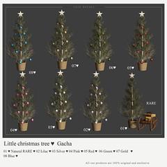 {YD} Little christmas tree ♥ Gacha ({Your Dreams}) Tags: equal10 exclusive exclusiveequal10 christmas gacha christmastree newrelease new sl winter