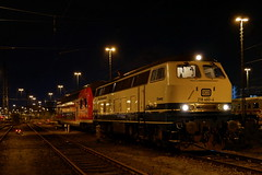 P1970486 (Lumixfan68) Tags: eisenbahn loks baureihe 218 dieselloks deutsche bahn db regio westfrankenbahn