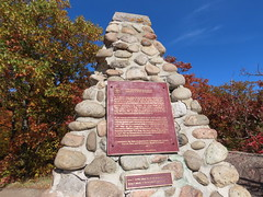 Day 16 - Returning to Calgary from Halifax, with a stopover in Ottawa -  Marker of the 1905 Geodetic Survey, Canada's first (benlarhome) Tags: ottawa gatineau ontario quebec canada autumn fall