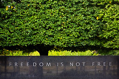 Freedom is Not Free (Thomas Hawk) Tags: america dc districtofcolumbia koreanwarmemorial koreanwarveteransmemorial usa unitedstates unitedstatesofamerica washingtondc washington fav10 fav25 fav50 fav100