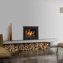 Inset Multi Fuel Stove (gillibrandfireplaces) Tags: inset multi fuel stove