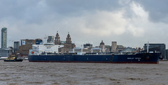 Nikolay Zuyev (frisiabonn) Tags: water liverpool ship vehicle wirral uk sea england boat marine waterfront britain outdoor vessel birkenhead shore maritime merseyside rivermersey docks harbour cargo oil tugboat tug tanker amazonas crude svitzer stanlow millgarth nikolayzuyev large