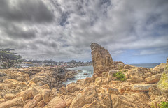 Perfect California Coast (Michael F. Nyiri) Tags: pacificocean pacificgrove loverspoint montereypeninsula california northerncalifornia clouds sky rocks rockyshore