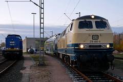 P1970456 (Lumixfan68) Tags: eisenbahn loks baureihe 218 dieselloks conny db regio westfrankenbahn deutsche bahn