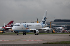 G-FBJJ - Embraer EMB-175STD [17000358] - Flybe - MAN / Manchester Airport - 25 September 2019 (Leezpics) Tags: embraer flybe gfbjj aircraftspotting 25september2019 emb175 manchesterairport planespotting egcc airliners commercialaircraft wilmslow england unitedkingdom