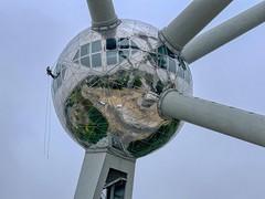 Brussels-Atomium-01 (foto_morgana) Tags: architecture atomium aurorahdr2019 belgië belgique belgium brussel brussels brusselshoofdstedelijkgewest bruxelles heysel iphonexsmax laeken on1photoraw2020 outdoor tourism monument sphere