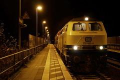 P1970497 (Lumixfan68) Tags: eisenbahn züge loks baureihe 218 dieselloks deutsche bahn db regio westfrankenbahn conny