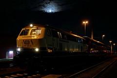 P1970491 (Lumixfan68) Tags: eisenbahn züge loks baureihe 218 dieselloks deutsche bahn db regio westfrankenbahn conny