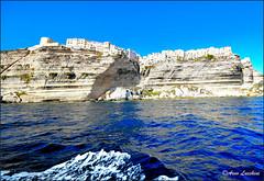 Bonifacio_1 (arno18☮) Tags: corse france bonifacio arno18 mer cièl bleu falaises aragon vagues tour escaliers