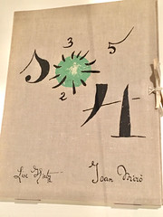 1-6 Miro at MoMA (MsSusanB) Tags: nyc newyork paintings moma exhibition museumofmodernart miro joanmiro book magpie