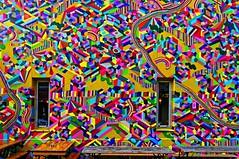 Hypercolor (POPAY) (Edgard.V) Tags: parigi paris street art urban mural callejero graffiti arte urbano mur wall muro fenêtes windows janelas finestre fenster