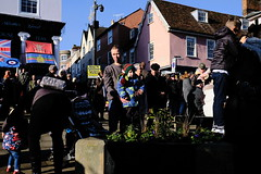 Remembrance Day in Bury St Edmunds (Bury Gardener) Tags: remembranceday november 2019 suffolk streetphotography street streetcandids snaps strangers candid candids people peoplewatching folks fujixt3 fuji fujifilm britain england eastanglia