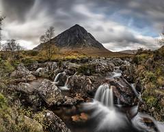 Glen Etive (petebristo) Tags: glenetive glencoe scotland waterfall slowshutter