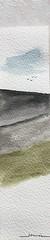 Aubrac paysage (J-M.I) Tags: aquarelle art house architecture hautegaronne 31 toulouse watercolour aveyron 12 dessin illustration graphisme aubrac vines castelginest artiste exposition crayonsdecouleur encredechine