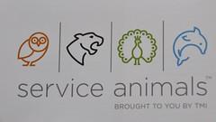 Service Animals (Service Dolphin) Tags: tmi serviceanimals logo artwork dolphin