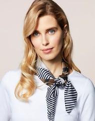 Walbusch n°1116 (Blouse et Foulard 2) Tags: blouse foulard walbusch silk scarf