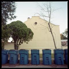 2019-11 H C R02 002 (kccornell) Tags: hasselblad color 120 6x6 film louisiana kodak 400 500c medium format portra trash garbage lafayette can gordon