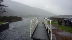 Laggan Locks, Caledonian Canal, Oct 2019 (allanmaciver) Tags: laggan locks thomas telford caledonian canal grey rails wet damp water scenery allanmaciver