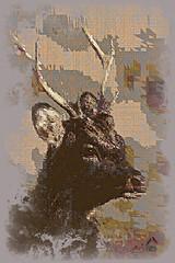 Sika Deer (SØS'Art) Tags: animals antlers deer digitalartwork art kunstnerisk manipulation solveigøsterøschrøder artistic eyes nature painting photomanipulation