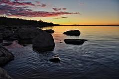 Sunset (Stefano Rugolo) Tags: stefanorugolo pentax k5 pentaxk5 seascape sunset sky sea silhouettes sweden