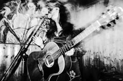 Higuchi Tomomi (maxwellkimi) Tags: music japan japanese live blackandwhite monochrome women friends performance