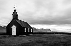 bk (skarhenrik) Tags: fujifilm xh1 xf16mmf14 iceland landscape blackandwhite church