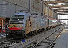 Leonardo (Mariano Alvaro) Tags: alemania obb munich central hbf db tren bahn trenes estaciones locomotora