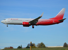 "Rossiya - Russian Airlines (FV-SDM-Rossiya), VQ-BUF, Boeing 737-8GJ(WL), 34897 / 2069, ""Ryazan / Рязань"", ORY/LFPO 2019-10-26, short finals to runway 24/06. (alaindurandpatrick) Tags: vqbuf 7378gj boeing7378gj 348972069 fv sdm ory boeing boeing737 boeing737800 boeing737nextgen 737 737800 738 737nextgen jetliners airliners rossiya rossiyarussianairlines airlines lfpo parisorly airports aviationphotography actionshots"