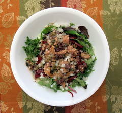 Tuna Salad (genesee_metcalfs) Tags: november fall autumn food salad tuna lettuce greens beet onion capers olives