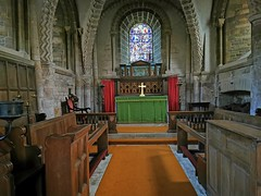 Photo of Inside St. Stephen's Church in Tickencote.