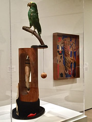 1-13 Miro at MoMA (MsSusanB) Tags: nyc newyork paintings moma exhibition museumofmodernart miro joanmiro sculpture parrot
