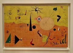 1-3 Miro at MoMA (MsSusanB) Tags: nyc newyork paintings moma exhibition museumofmodernart miro joanmiro landscape hunter catalan