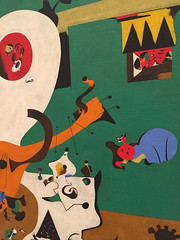 1-9 Miro at MoMA (MsSusanB) Tags: nyc newyork paintings moma exhibition museumofmodernart miro joanmiro dutch interior