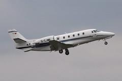 Citation Excel XLS (nickchalloner) Tags: dcjmk cessna 560xl citation xls 560 london stansted airport stn egss