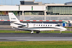 D-CHDC Citation 680 Sovereign (eigjb) Tags: dublin airport eidw ireland international collinstown jet airliner transport plane spotting aviation aircraft airplane aeroplane dchdc citation c680 sovereign cessna executive bizjet citation680